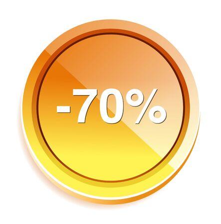 boton on off: 70 por ciento de descuento bot�n