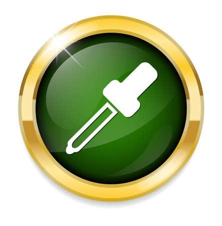dropper: dropper button Illustration