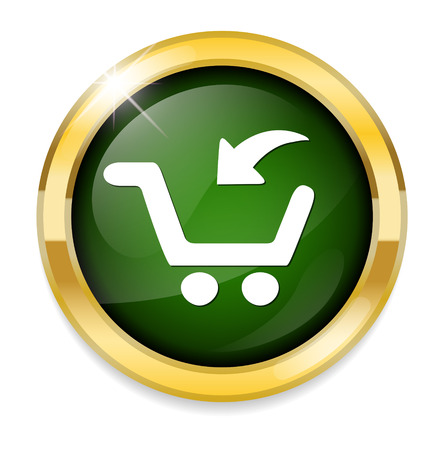 add to cart button, buy now icon Illustration