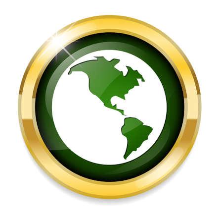 globe world: Globe earth icon
