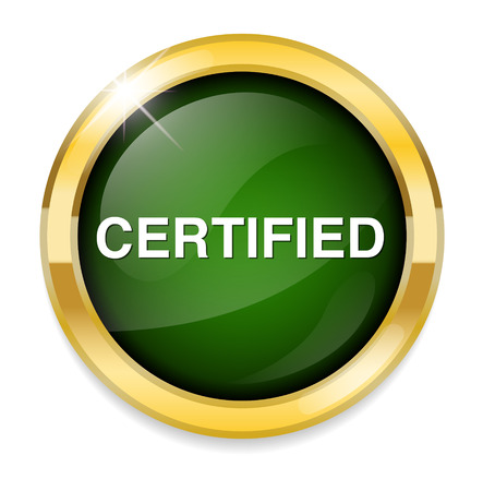 Certified button