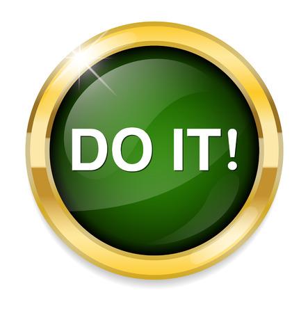 do: do it icon Illustration