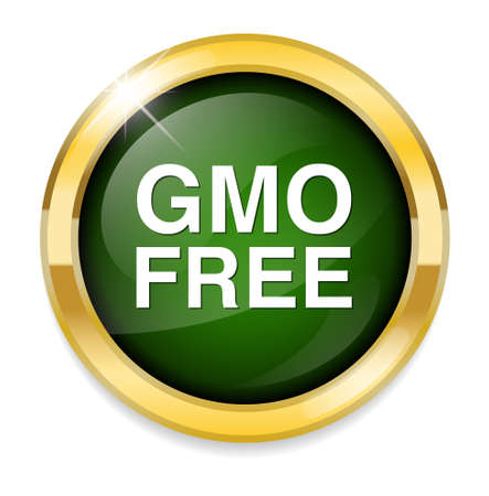 gmo: gmo free icon Illustration