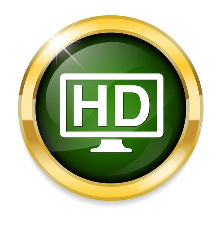 display: hd display icon