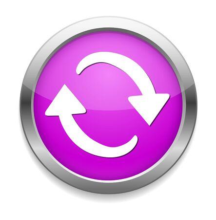 refresh icon: refresh icon Illustration