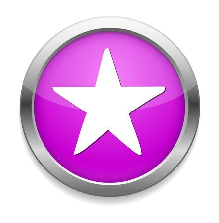 hvězda: Icon hvězda Ilustrace