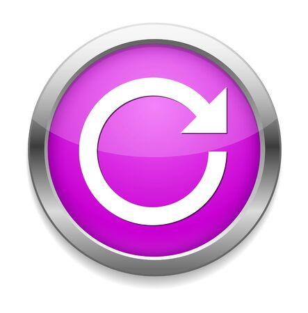 reload: reload icon Illustration