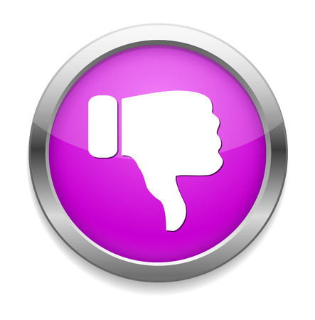 thumbs down: Dislike (thumbs down icon)