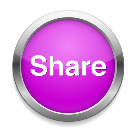 Share icon. Illustration