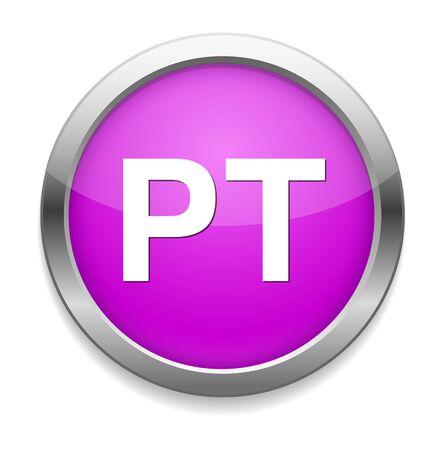 Pt Button Vector