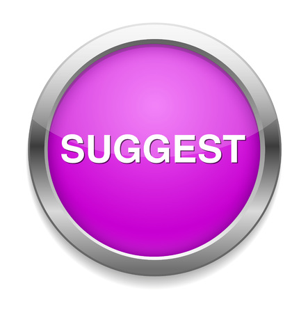 suggest: suggest button Illustration