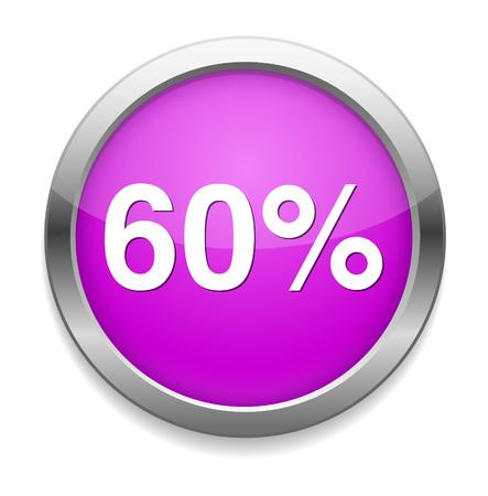 60: 60 percent icon