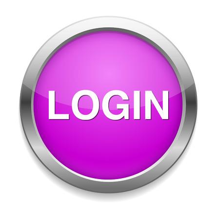 login button: login button
