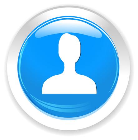user icon: User icon Illustration