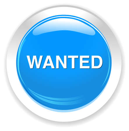 help wanted sign: wanted button