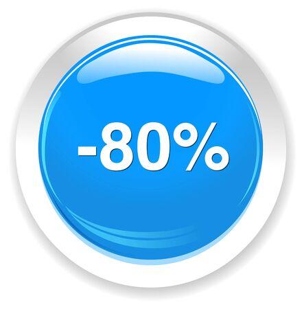 boton on off: 80 por ciento de descuento bot�n