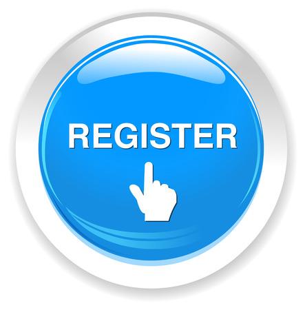 register button Banco de Imagens - 40150378