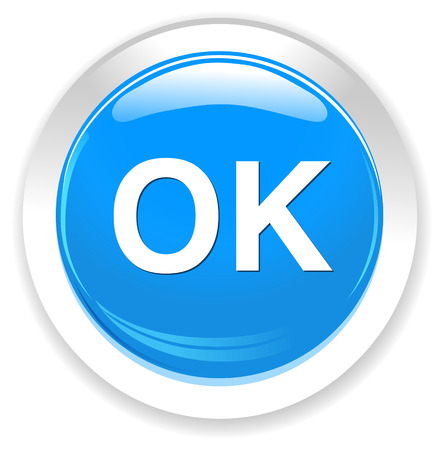 alright: ok icon Illustration