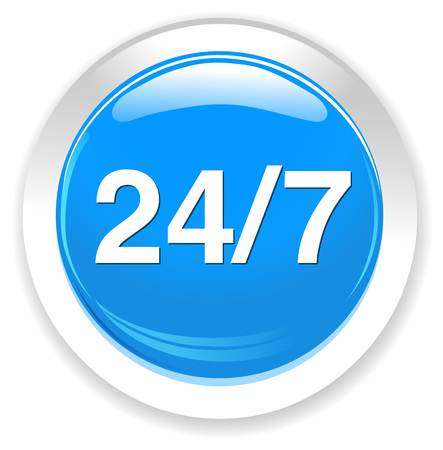 customer: 247 customer service Illustration