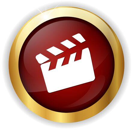 movie clapper: movie icon batacchio