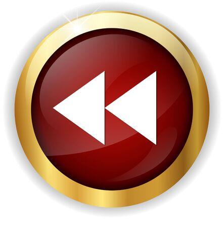 rewind: rewind button icon
