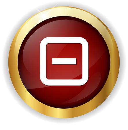 minus sign: minus sign icon