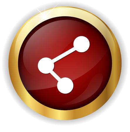 neutron: atom icon Stock Photo