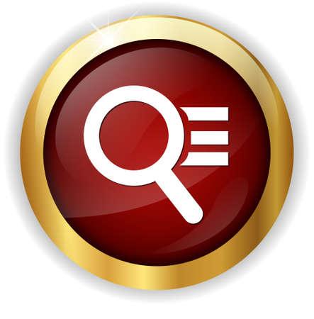 scrutiny: magnifying button