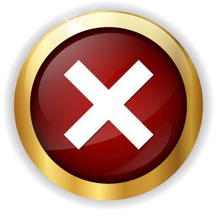 delete: delete remove icon Stock Photo