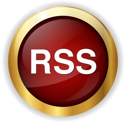 rss: rss  icon Stock Photo