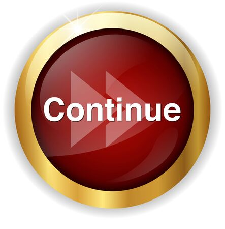 continue: continue button Stock Photo