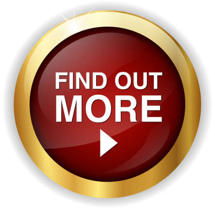 find out: find out more button Stock Photo