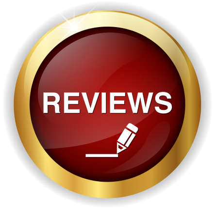 review: Review Button Stock Photo