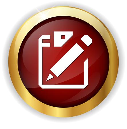 Icono de documento  Foto de archivo