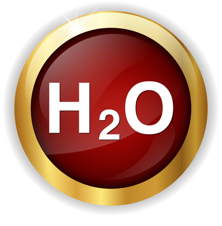 h2o: H2O icon Stock Photo