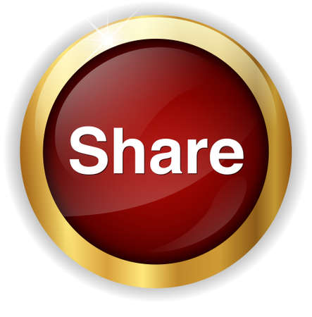 share icon: Share icon. Stock Photo