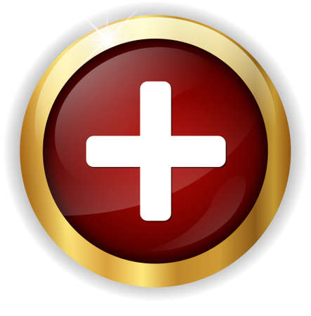 add icon: cross button add icon