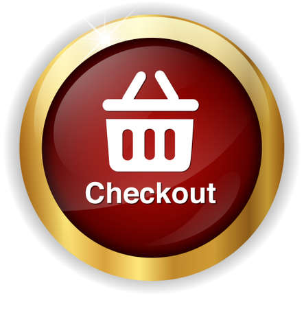 checkout: checkout icon Stock Photo