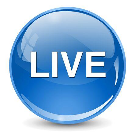 live stream radio: live icon