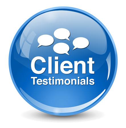 authenticate: Client testimonials button
