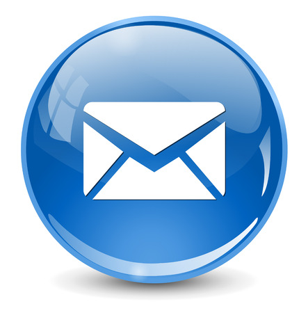 mail icon, envelope button