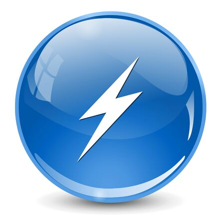 electricity icon: electricity icon Illustration