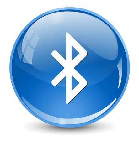 bluetooth: bluetooth icoon  button