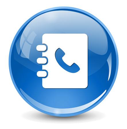 phone book: phone book icon
