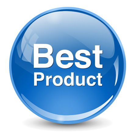 at best: Best Product button Illustration