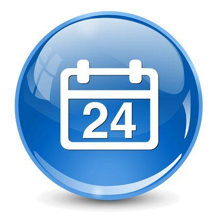 24: 24 calendar icon