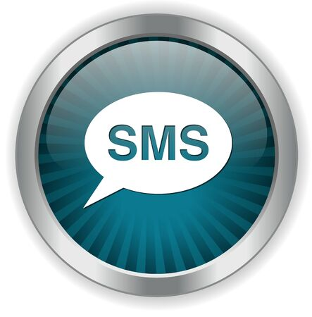 sms: sms bubble button