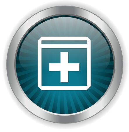 bouton ajouter: ajouter un bouton Illustration