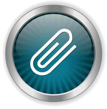 paper clip: paper clip icon