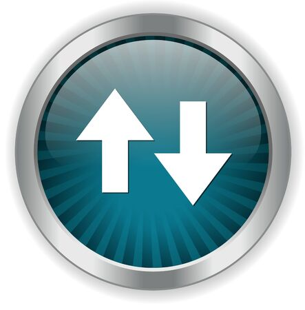 up and down: up down button Illustration